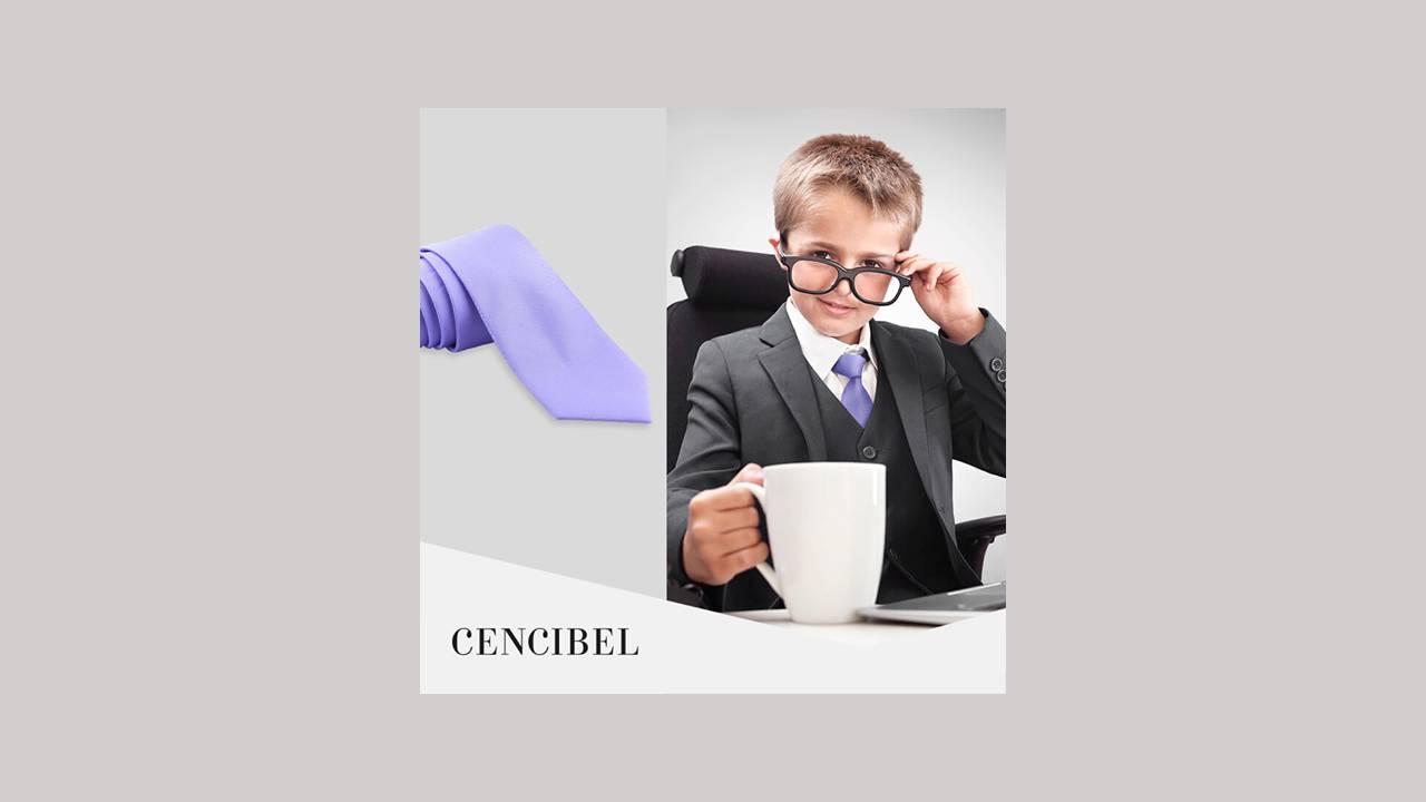 Corbatas para padres e hijos
