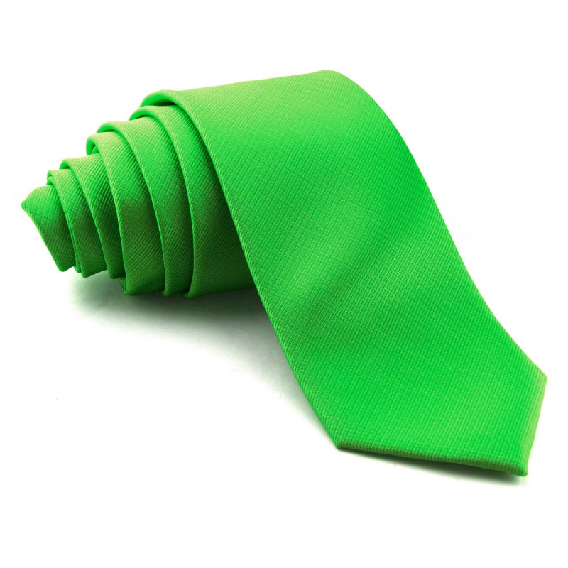 Corbata Verde Acido