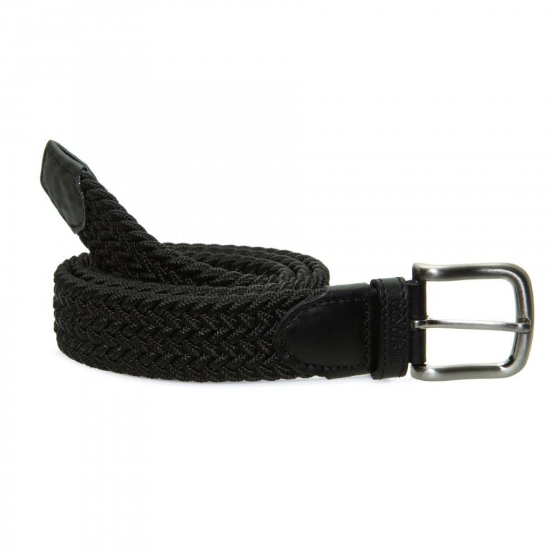 Cinturón Elástico Negro para hombre