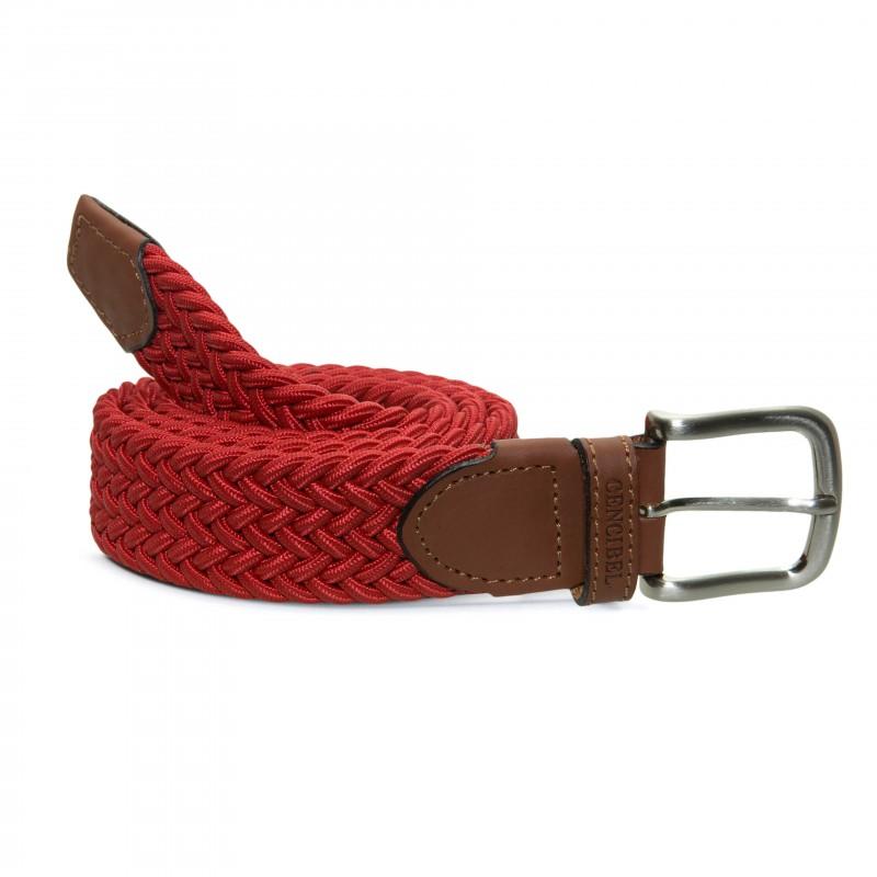 Cinturón Elástico Rojo para hombre