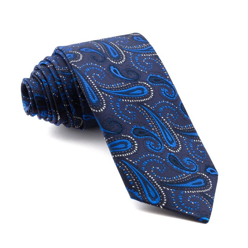 Corbata Marino Cachemir Azul