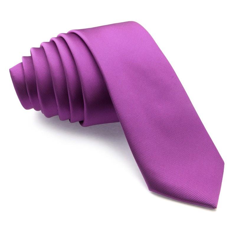 Corbata Estrecha Lila