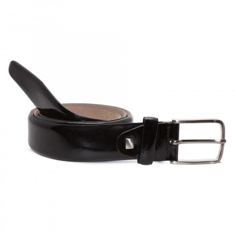 Cinturón Charol Negro