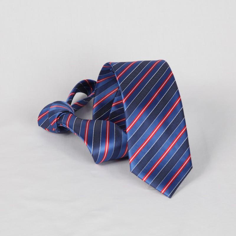 Corbata Rayas Azules y Rojas