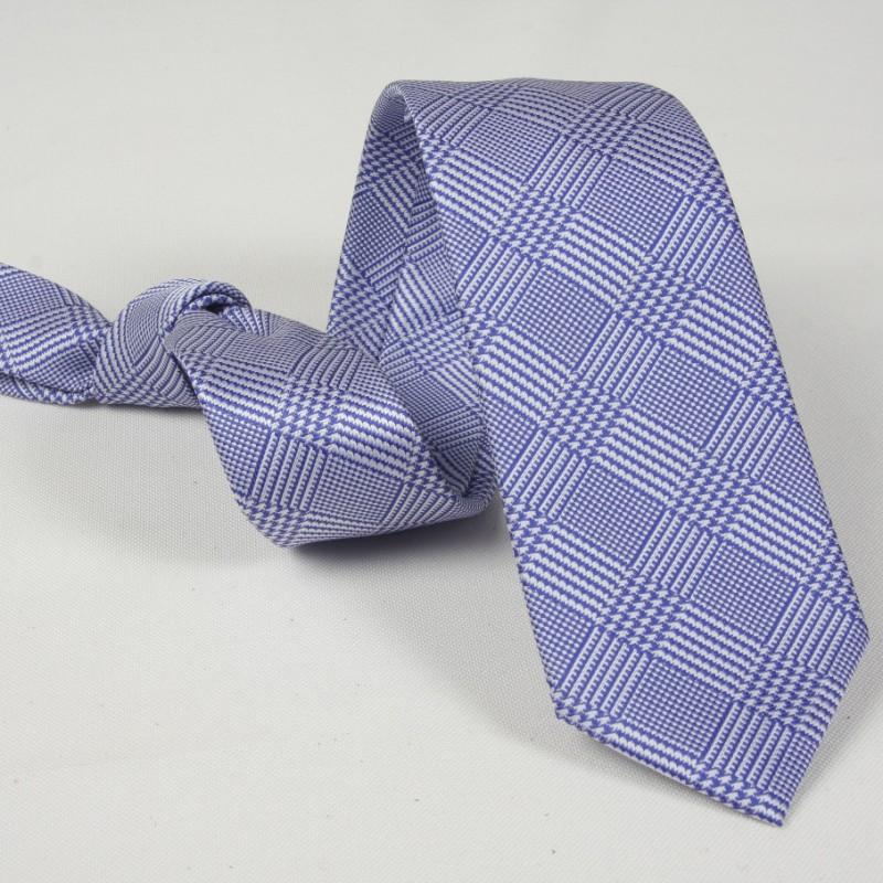 Corbata Cuadros Gales Azul