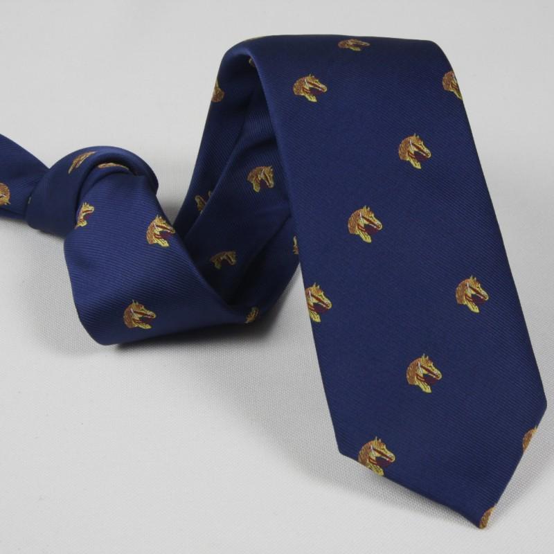 Corbata Azul Caballos