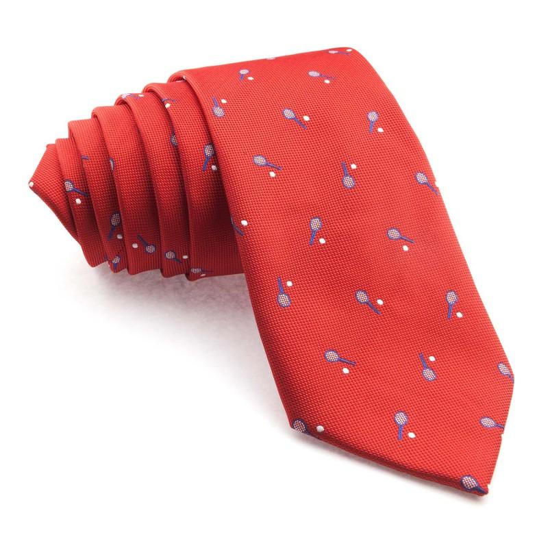 Corbata Roja Raquetas