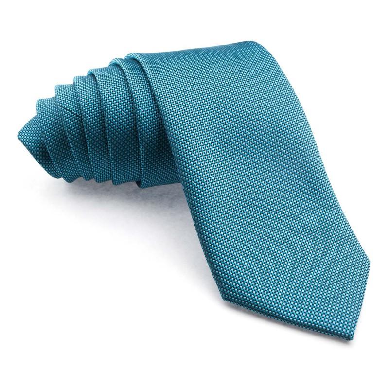 Corbata Verde Cobalto