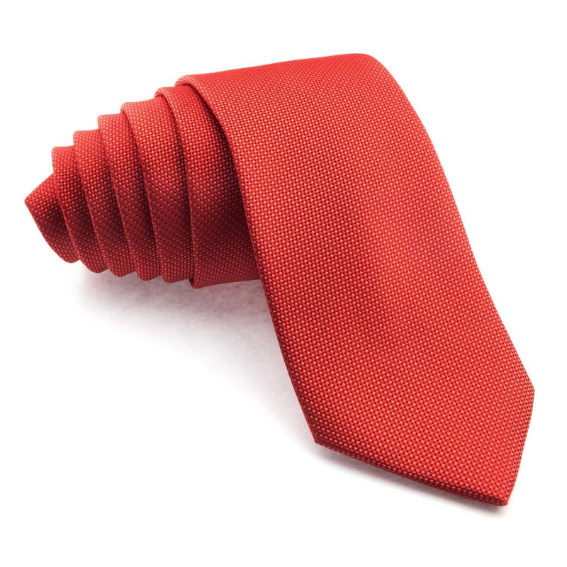 Corbata Coral Falso Liso