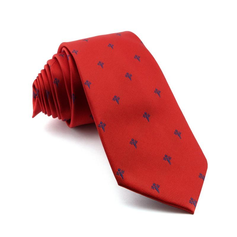 Corbata Roja Cruz de Santiago