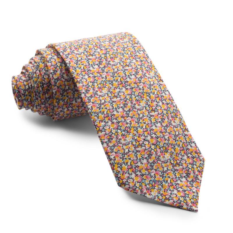 Corbata Flores Liberty