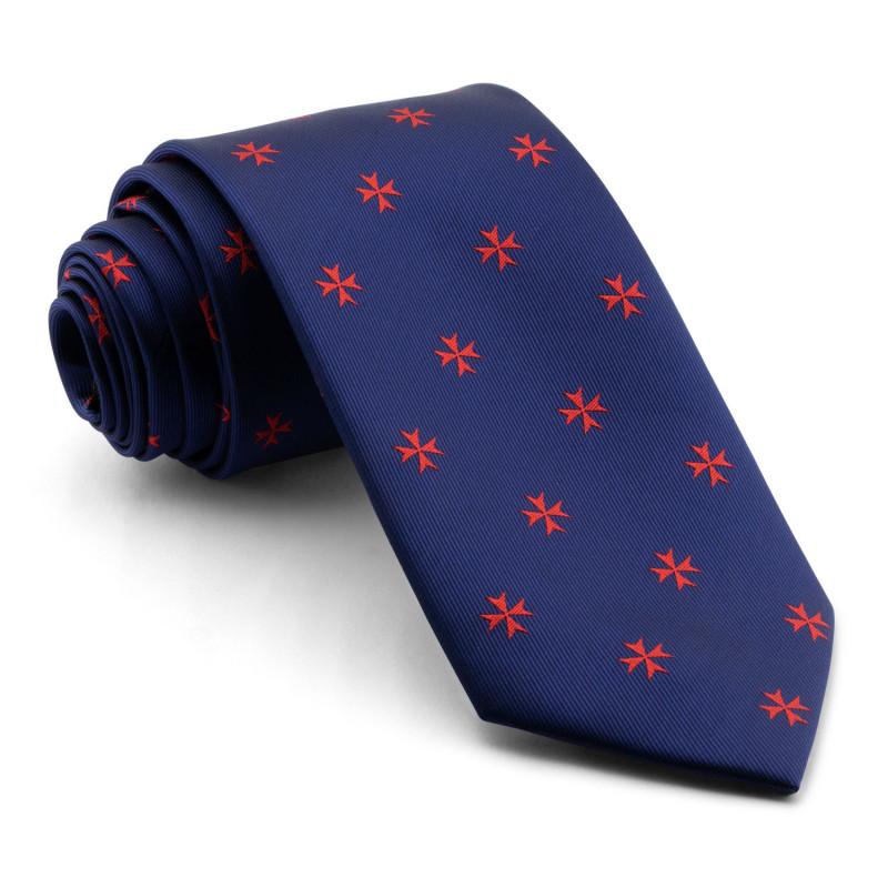 Corbata Marino Cruz Malta