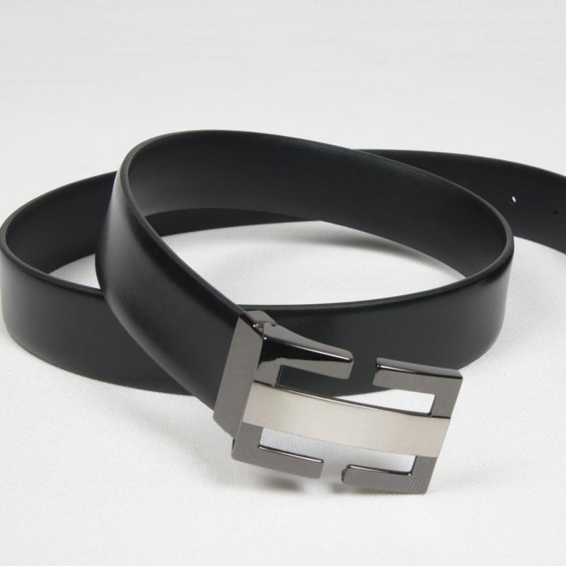 Cinturón Piel Negro Original