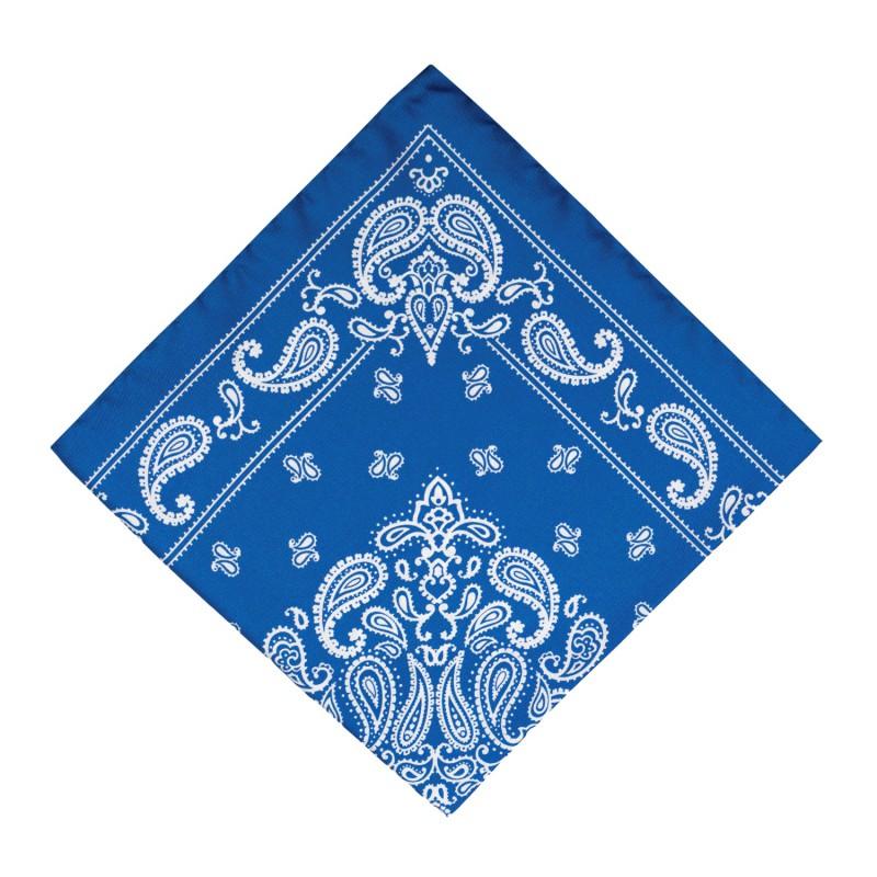 Pañuelo Azul Cachemir