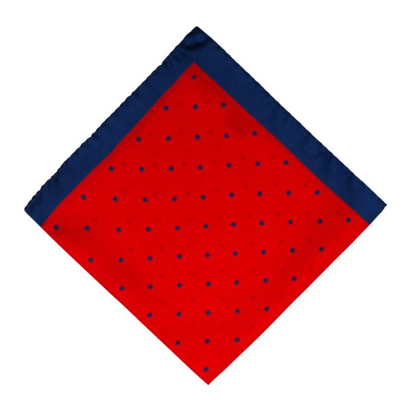 Pañuelo Rojo Lunares