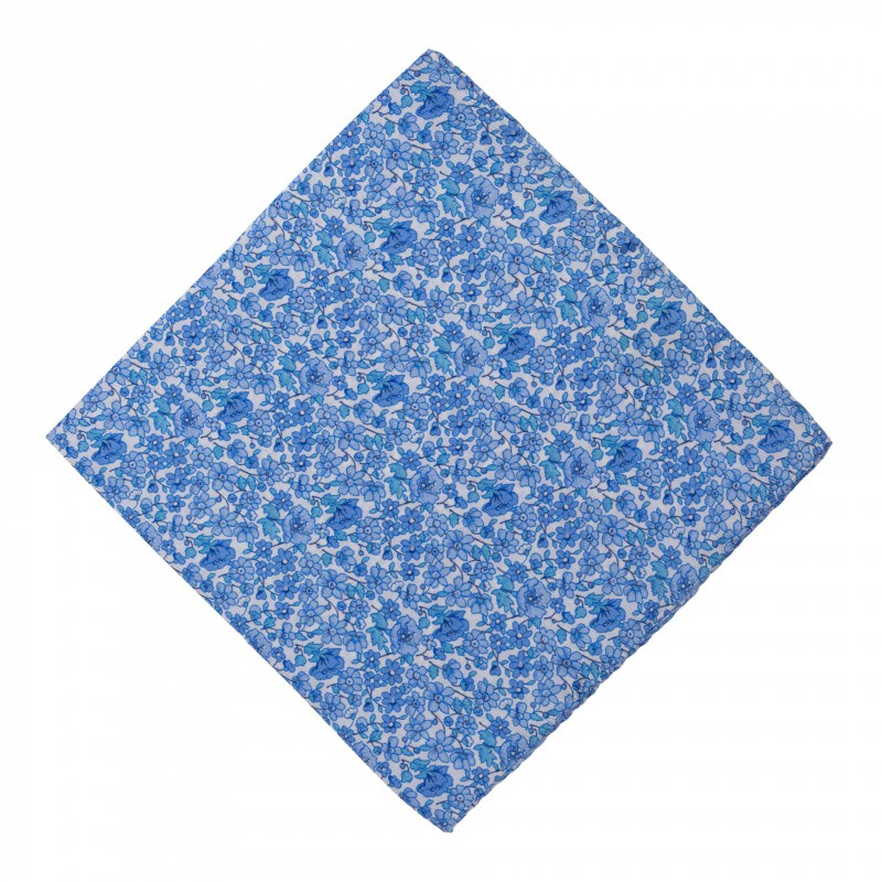 Pañuelo Flores Azules