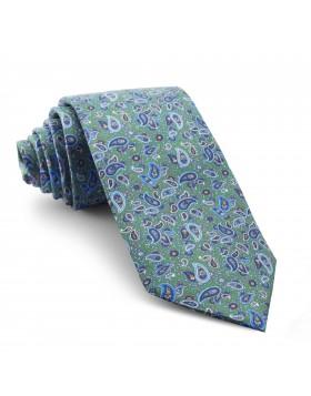 Corbata Verde Cachemir