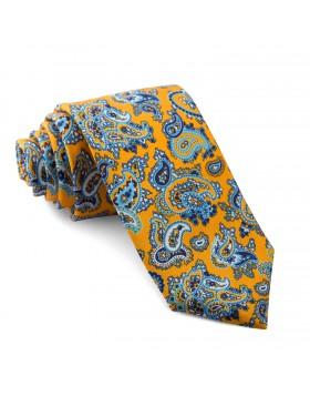 Corbata Naranja Cachemir