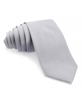 Corbata Gris Perla