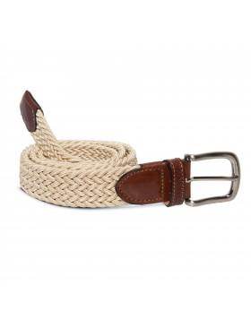 Cinturón Elástico Beige para hombre