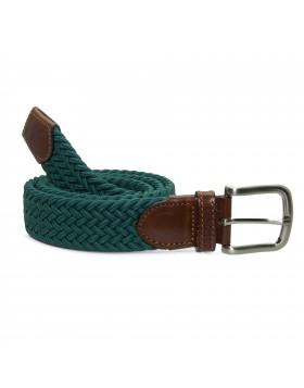Cinturón Elástico Verde para hombre