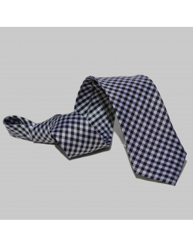 Corbata Cuadros Negros
