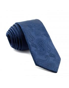 Corbata Azul Cachemir con tonos Azules