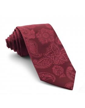 Corbata Burdeos Cachemir
