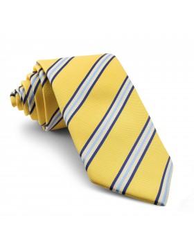 Corbata Amarilla Rayas