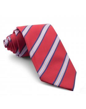 Corbata Roja Rayas