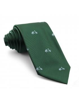Corbata Verde Motos Celestes
