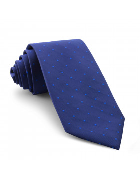 Corbata Marino Lunares