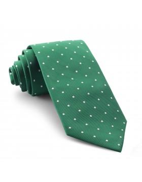 Corbata Verde Lunares