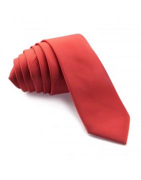 Corbata Estrecha Roja