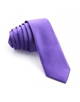 Corbata Estrecha Malva