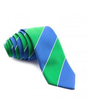Corbata Rayas Azules y Verdes