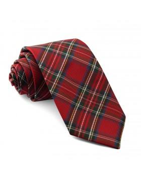 Corbata Roja Cuadros