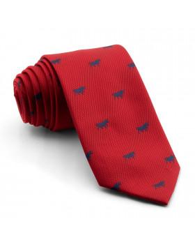 Corbata Roja Toros