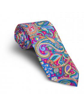 Corbata Fucsia Cachemires