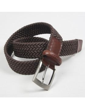 Cinturón Elástico Marrón para hombre