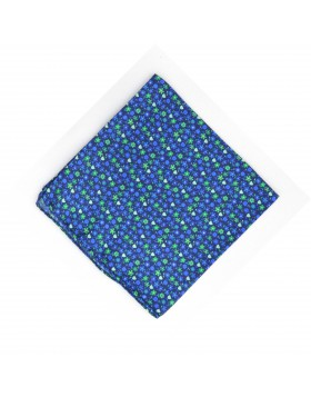 Pañuelo Azul Flores