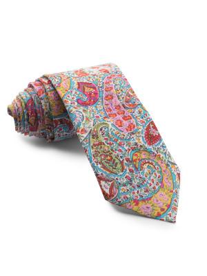 Corbata Liberty Cachemir Turquesa