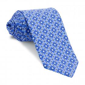 Corbata Azul Dibujos Marino