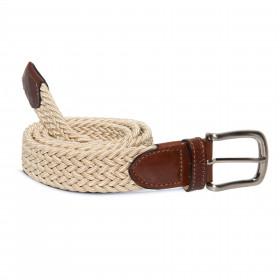 Cinturón Elástico Beige