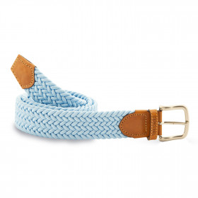 Cinturón Elástico Celeste