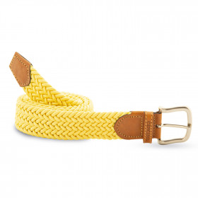 Cinturón Elástico Amarillo