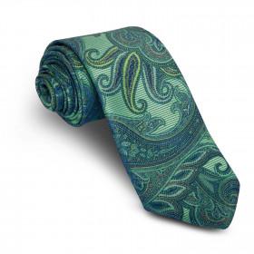 Corbata Verde Cachemires