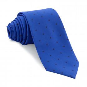 Corbata Azul Lunares Marino