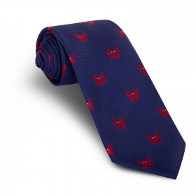 Corbata Marino Cangrejos Rojos