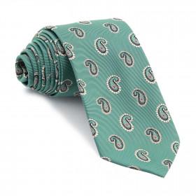 Corbata Verde Claro Cachemires